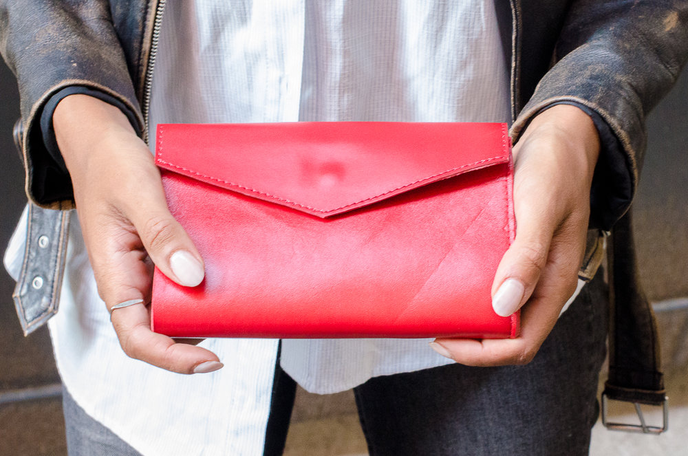 coco wallet red - 70 euro
