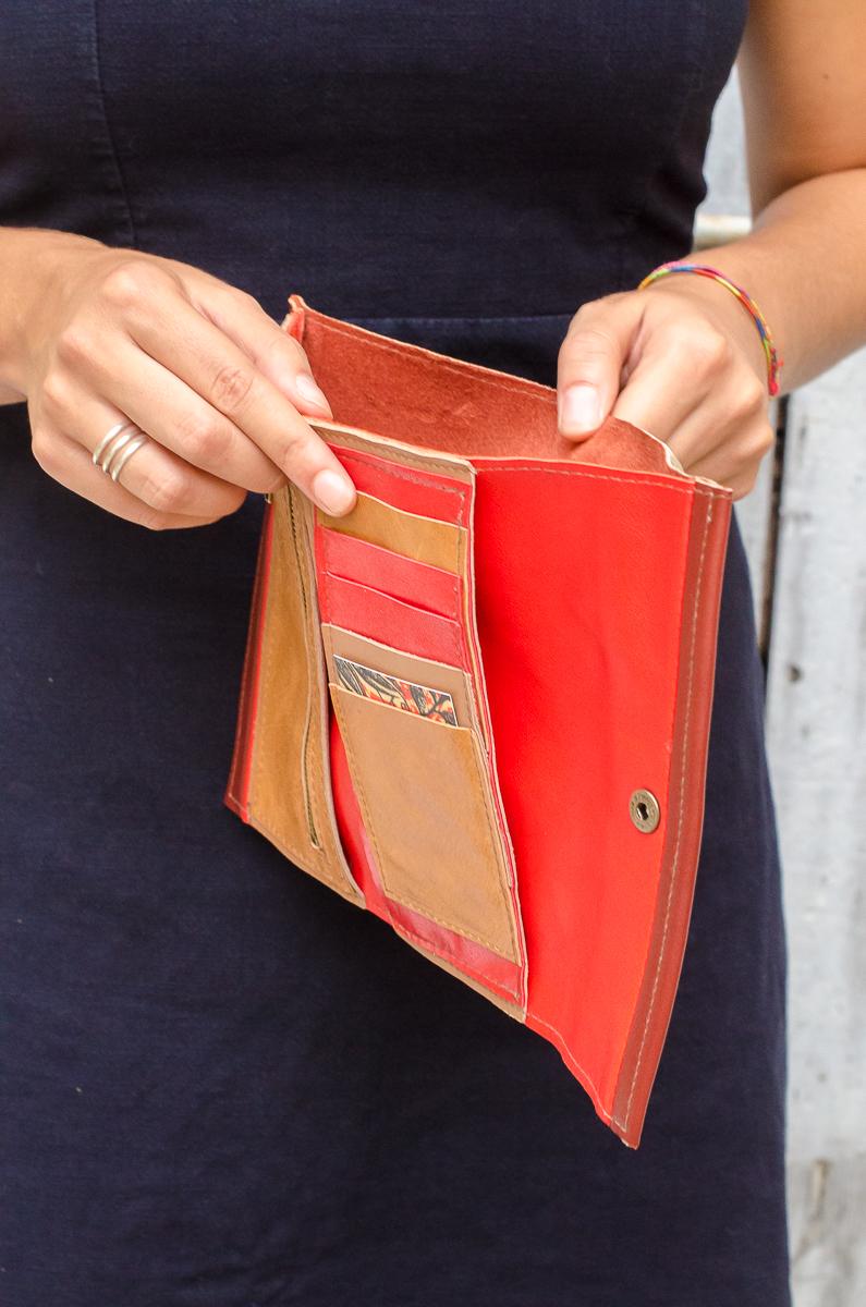 coco wallet brown - 70 euro