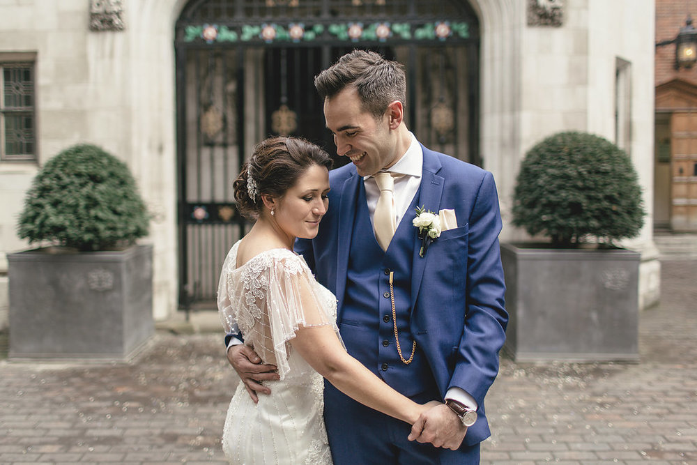 Gem & Mike - As soon as we met Shaun we both said we want Shaun to do our wedding!Our (my) design, layout and detail requests for the look and feel of the day were particular to say the least and until we met Shaun I was panicking slightly that my vision wasn't going to be realised. Every little thing I asked for he listened to and made so many suggestions on the room layout, tables etc… that we hadn't thought of which really made the difference and I can say whole heartedly the room looked AMAZING on the day and every single detail had been carried out to perfection.When the day arrived we were greeted by Shaun himself with a bottle of fizz and a warm congratulations. His enthusiasm and unfaltering attention continued throughout the whole day and night and I personally felt like a princess.My Mum was so impressed with Shaun on the day she asked for his details to thank him personally and myself and my husband could not stop saying how fantastic he had been.The images speak for themselves in terms of aesthetics on the day.I could go on and on as we really were so impressed with every aspect of our day.