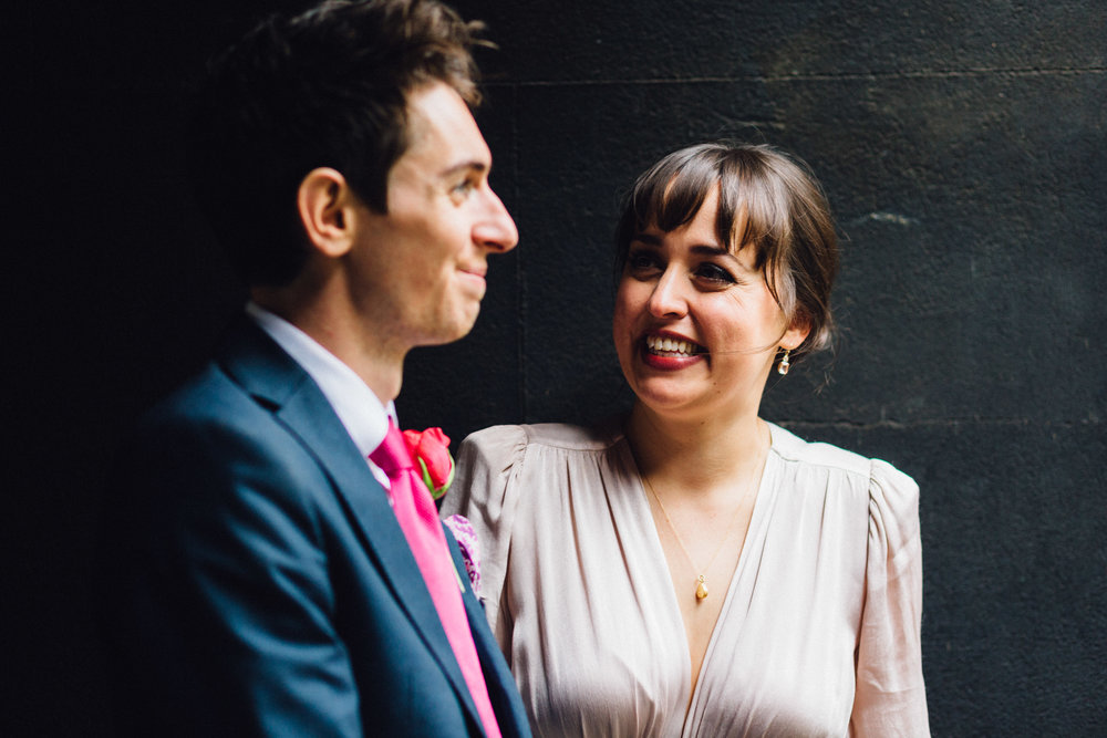 Georgina & Michael - A month before our wedding we got in touch with Shaun to see if he might be free to help us with his 'on the day' service, and luckily for us, he was available! He'd been recommended to us and was totally amazing in helping us to pull together the whole thing, and making sure it ran without a hitch on the day.We really loved planning our own wedding - we had loads of ideas and really enjoyed every aspect in the lead up, but as it got closer, we decided that as we were the ones actually getting married, we'd best hand it over to the professionals! Hands down, working with Shaun was one of the best decisions we could have made.Enjoying our day without having to think about table plans, or timings was our absolute main priority, and Shaun made that possible.Right away, it felt like Shaun just got us. He listened to all our ideas, didn't judge any of the more 'out there' ones and got to work in helping us to streamline and develop our plan. He suggested things we hadn't even thought of, was able to offer his professional opinion on some of the finer details, and took the lead with all our suppliers - he even helped us to bring our costs down!On the day things ran like clock work. It felt completely effortless (I'm sure Shaun will say otherwise!) and actually, like we had a friend with us. We're so thankful we chose Shaun for our special day. We'd 100% recommend him to anyone.