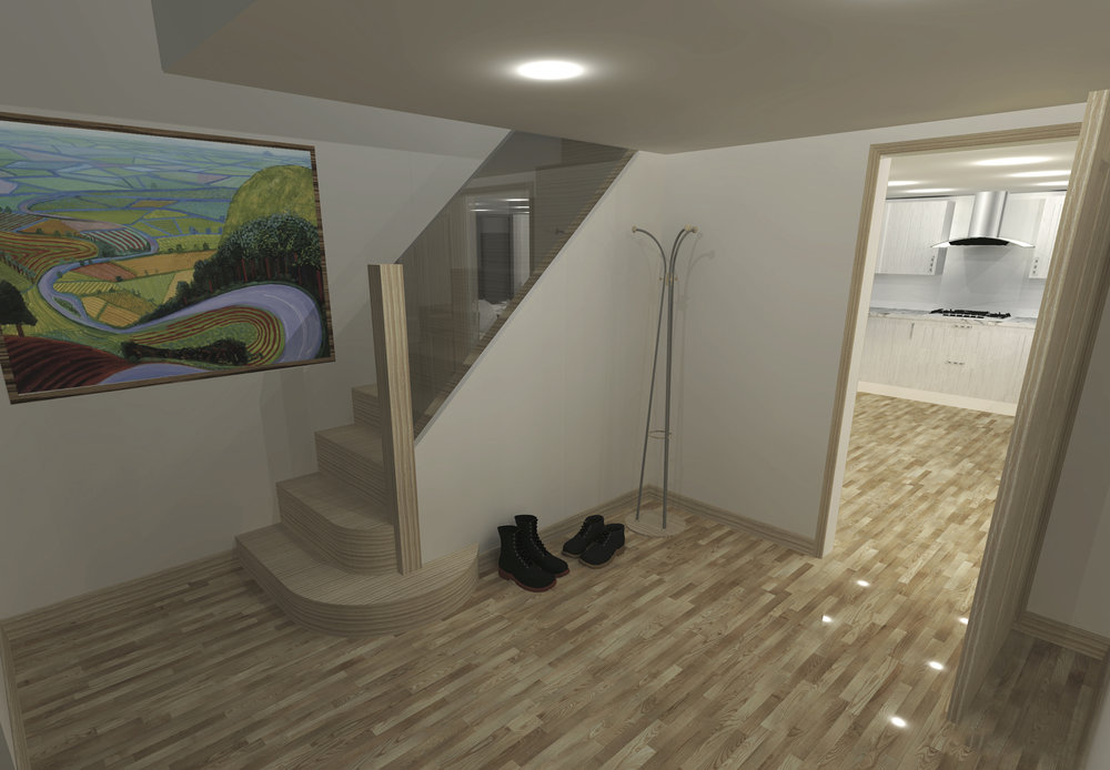 Proposed Foyer