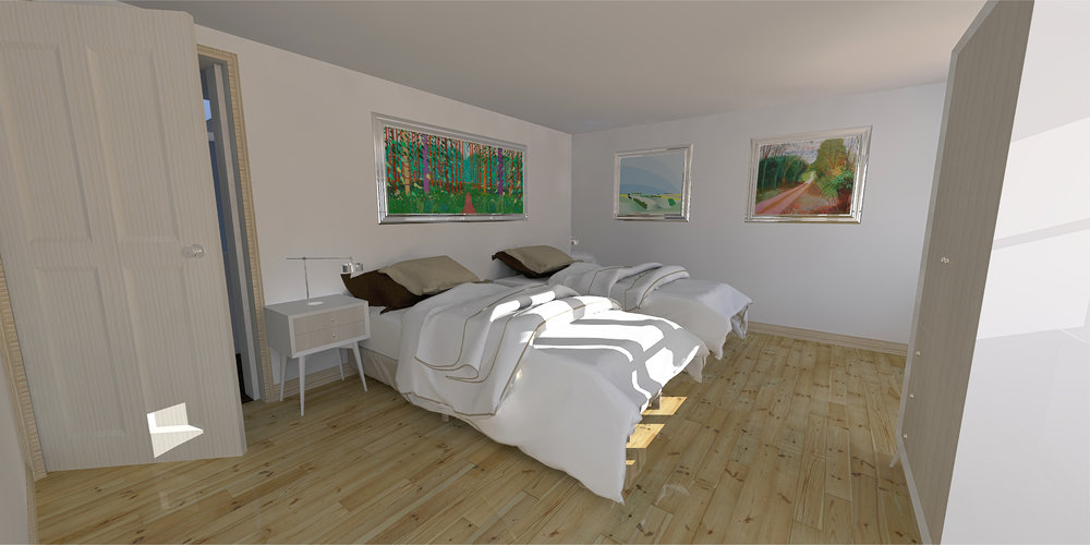 Proposed Guest Bedroom