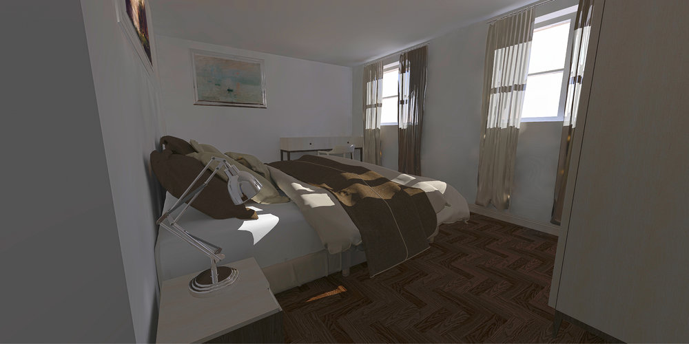Proposed 2nd Bedroom