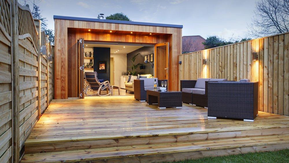 Queensgate Studio Deck