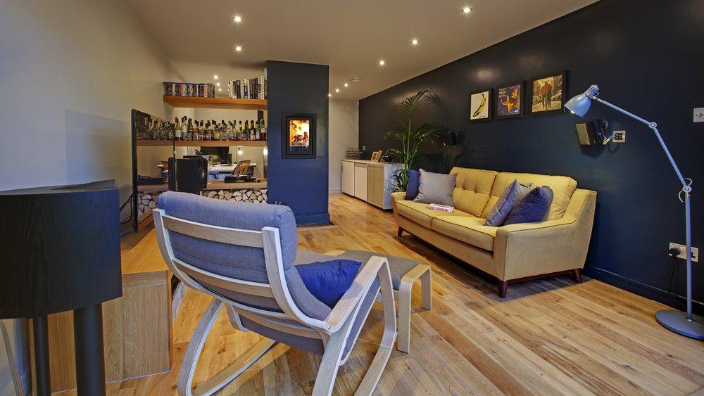 Queensgate Studio living area