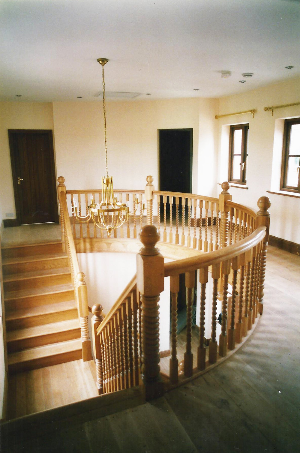 Staircase Image 1 - North End Farm - East Yorkshire Architects - Samuel Kendall Associates