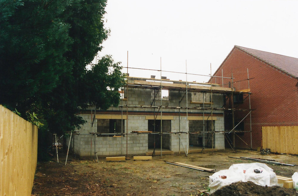 Construction 3 - Alma Close - Hull Architects - Samuel Kendall Associates