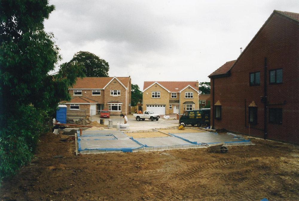 Construction 2 - Alma Close - Hull Architects - Samuel Kendall Associates