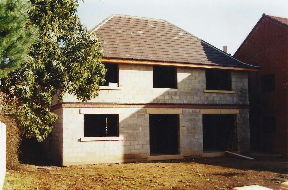 Construction 4 - Alma Close - Hull Architects - Samuel Kendall Associates
