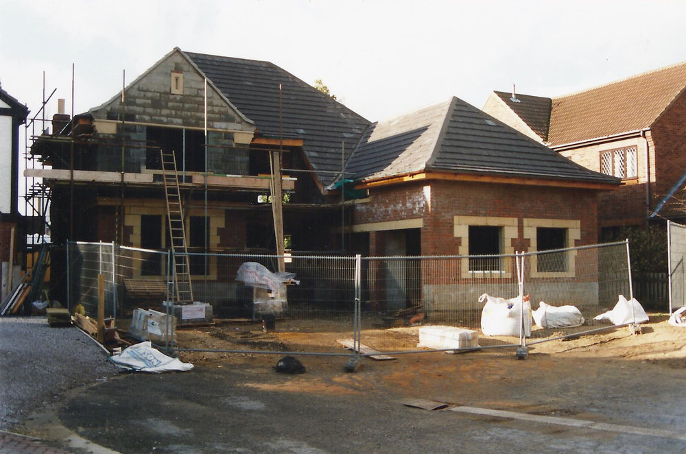 Construction 9 - Alma Close - Hull Architects - Samuel Kendall Associates