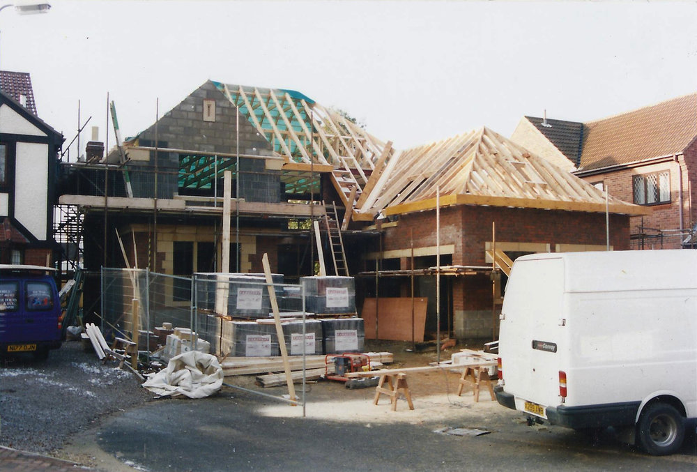 Construction 7 - Alma Close - Hull Architects - Samuel Kendall Associates