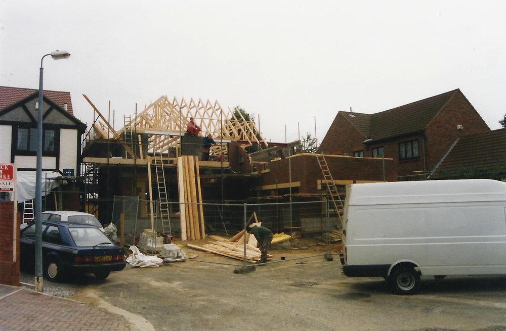 Construction 6 - Alma Close - Hull Architects - Samuel Kendall Associates