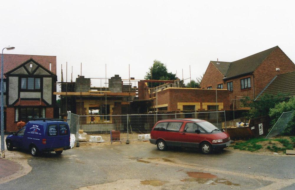 Construction 5 - Alma Close - Hull Architects - Samuel Kendall Associates