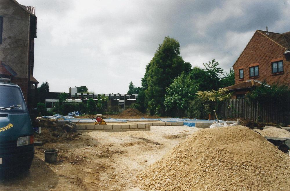 Construction 1 - Alma Close - Hull Architects - Samuel Kendall Associates
