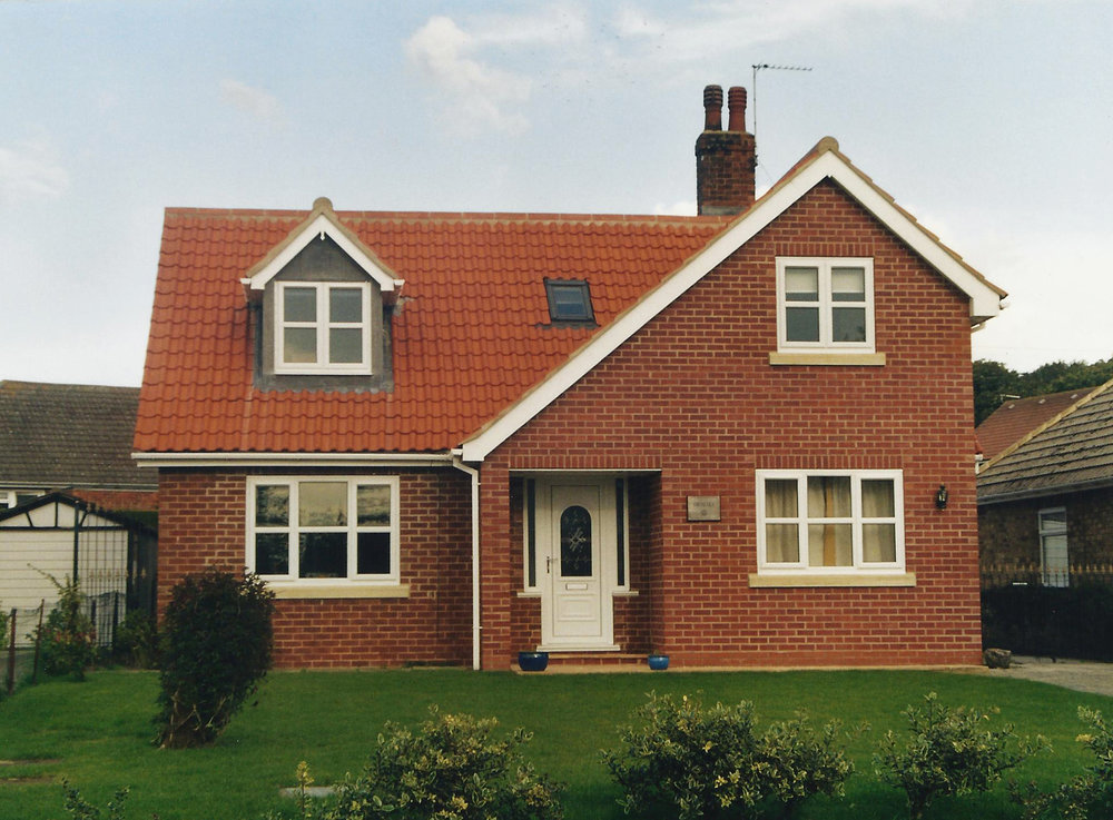 Exterior 1 - Sproatley Cottage - Hull Architects - Samuel Kendall Associates