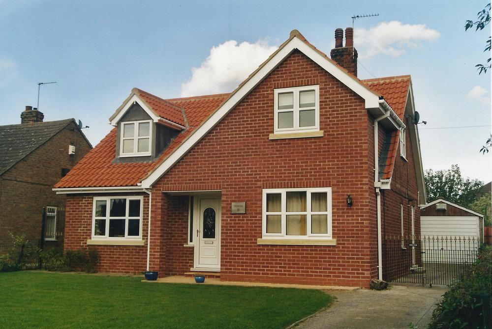 Exterior 3 - Sproatley Cottage - Hull Architects - Samuel Kendall Associates