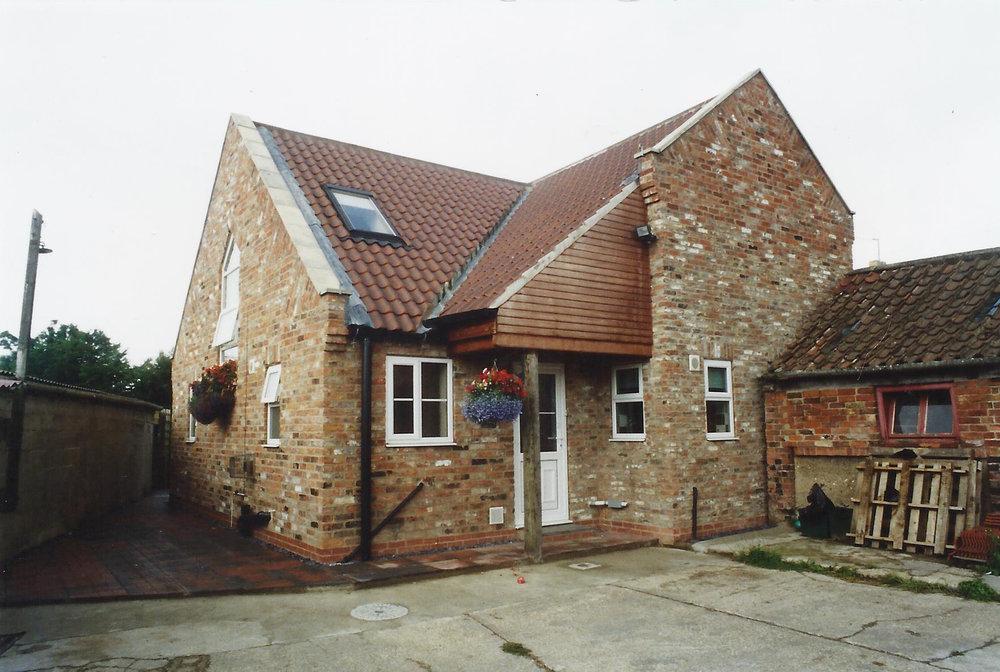 Exterior 2 - Laurel Cottage - Hornsea Architects - Samuel Kendall Associates.jpg