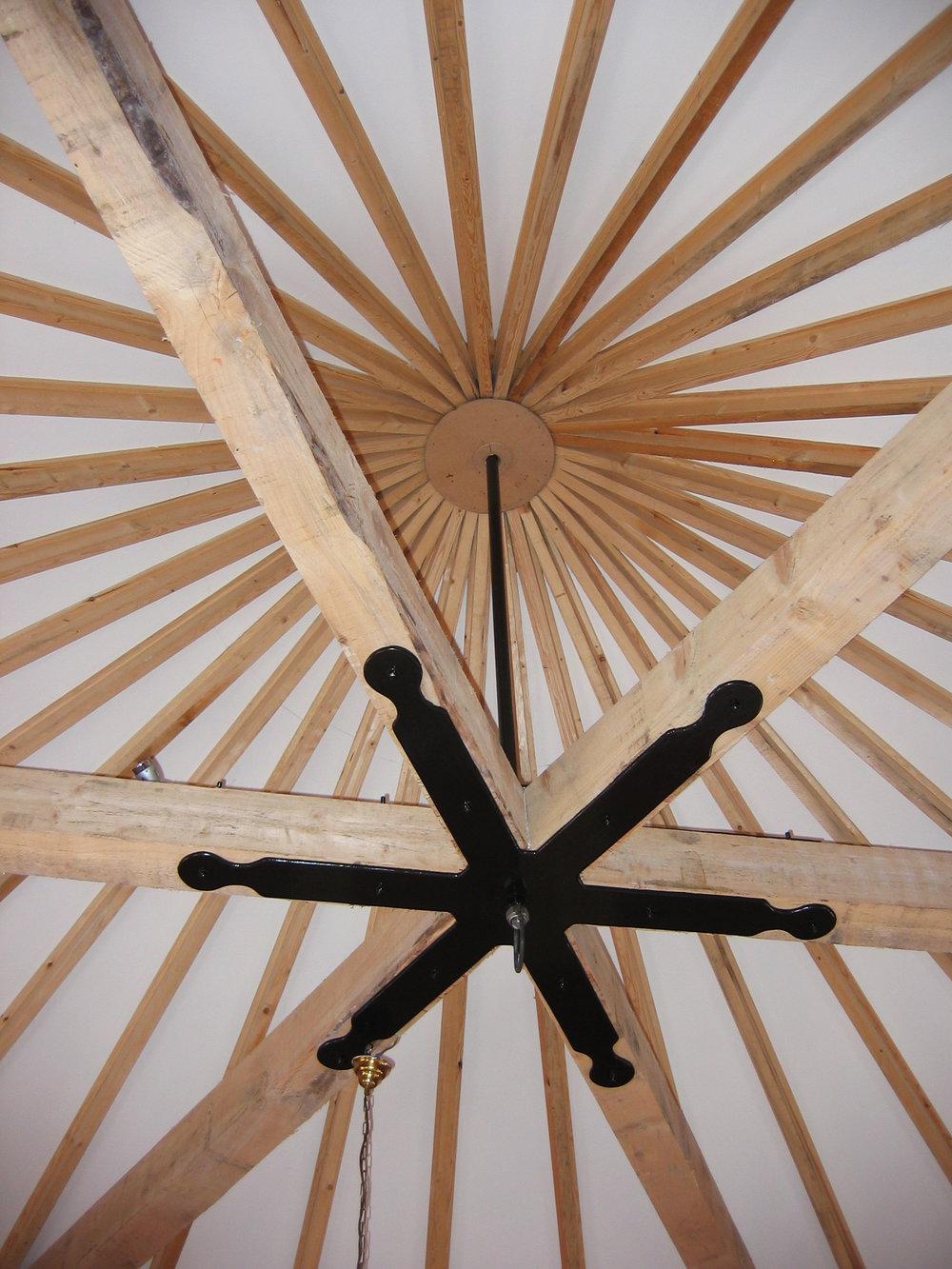 Rotunda Farmhouse Interior 1 - York Architects - Samuel Kendall Associates