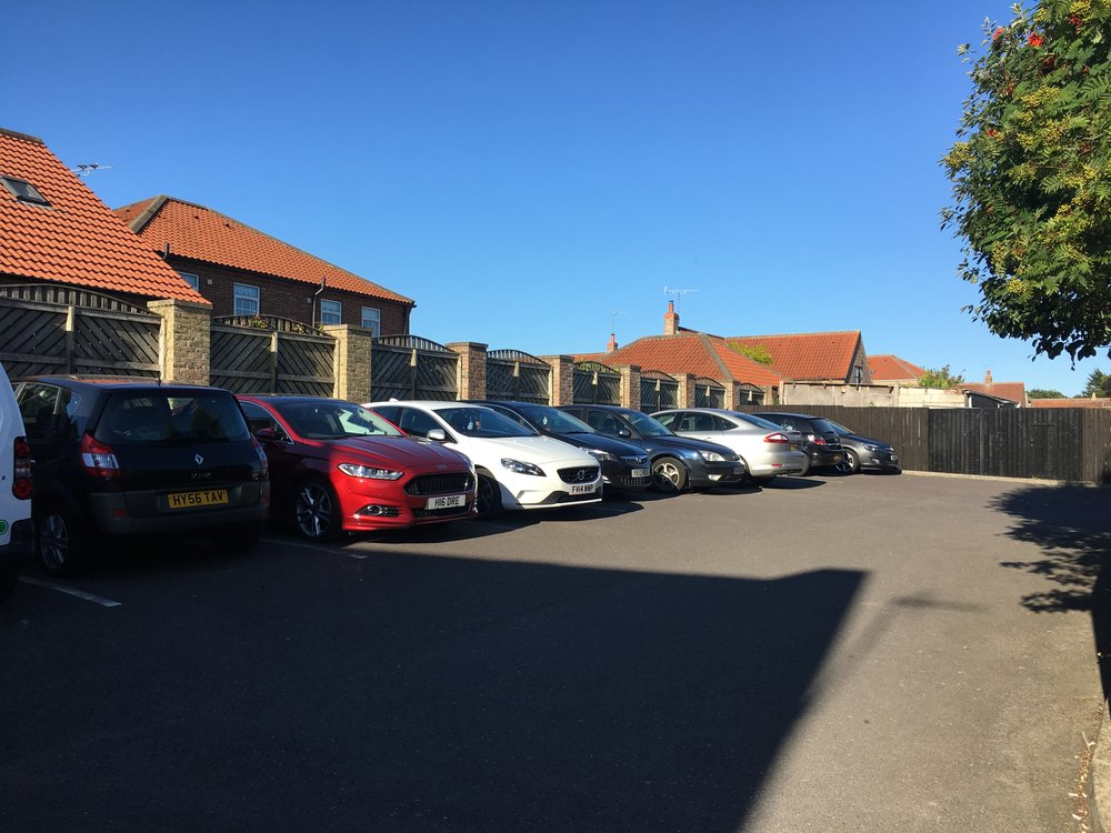 Orchard Mews Parking 1 - Samuel Kendall Associates - Driffield Architects