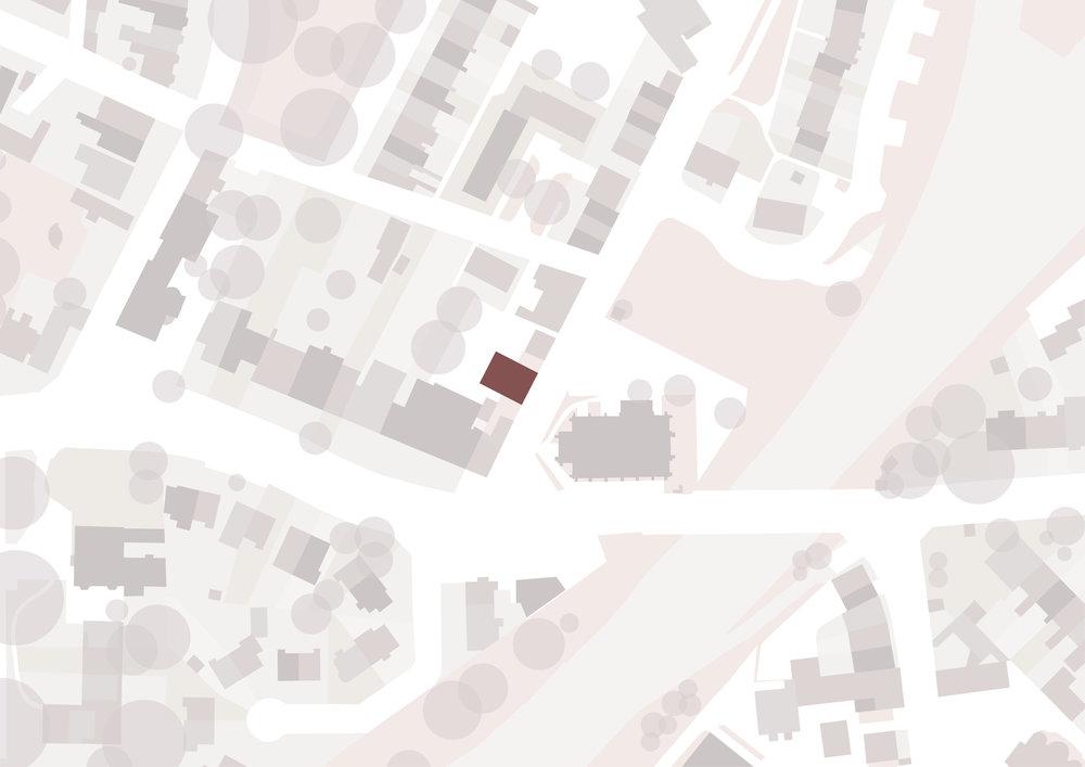 Watson Street Living Map - York Architects - Samuel Kendall Associates