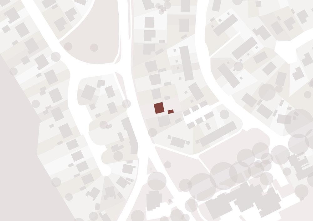 Sproatley Cottage Map - East Yorkshire Architects - Samuel Kendall Associates