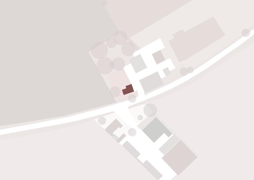 Walbut House Map - East Yorkshire Architects - Samuel Kendall Associates