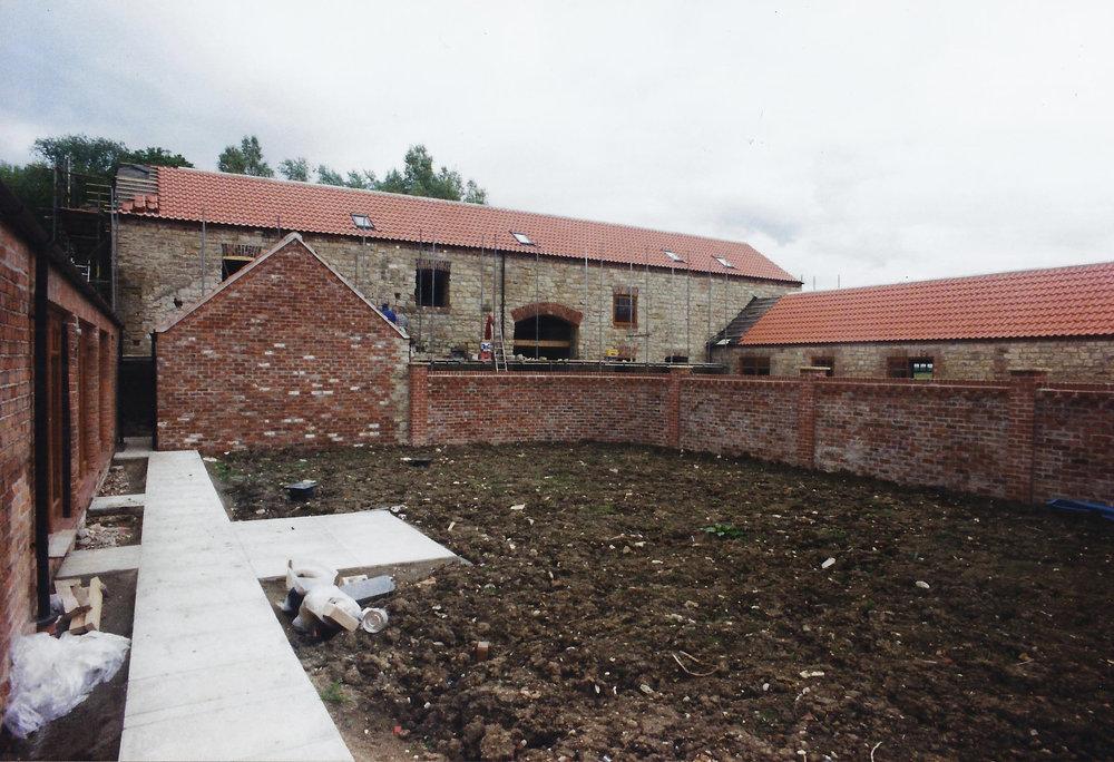 Brecks Farm Construction 1 - East Yorkshire Architects - Samuel Kendall Associates.jpg