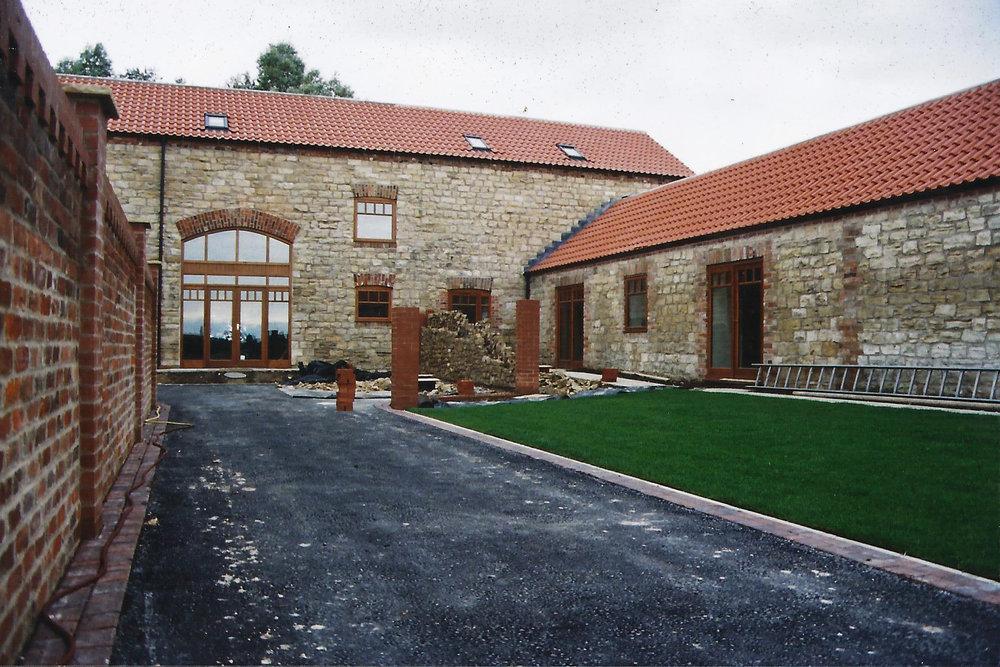 Brecks Farm Construction 3 - East Yorkshire Architects - Samuel Kendall Associates.jpg