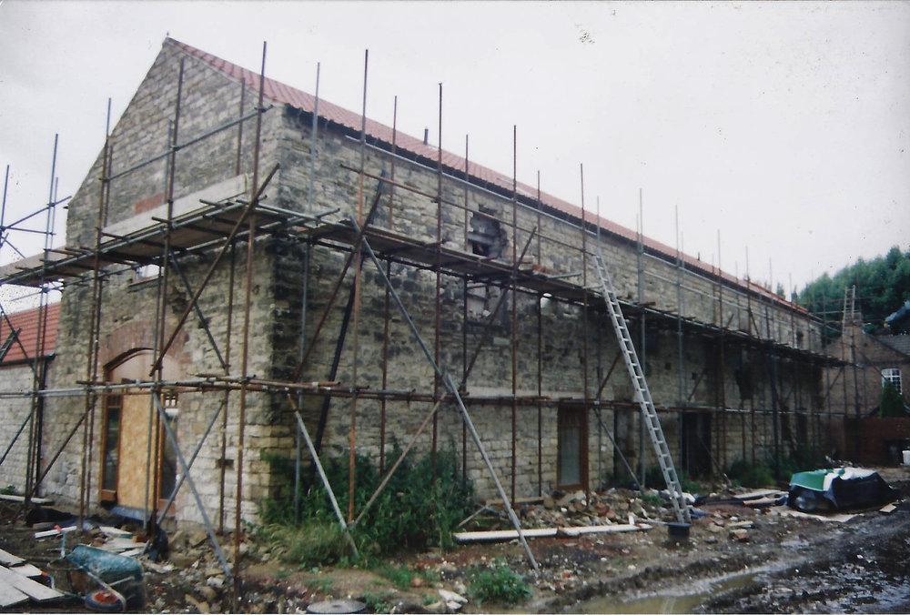 Brecks Farm Construction 6 - East Yorkshire Architects - Samuel Kendall Associates.jpg