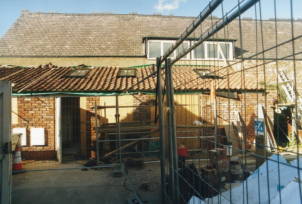 3Old Dairy Construction Exterior 1 - Hedon Architects - Samuel Kendall Associates
