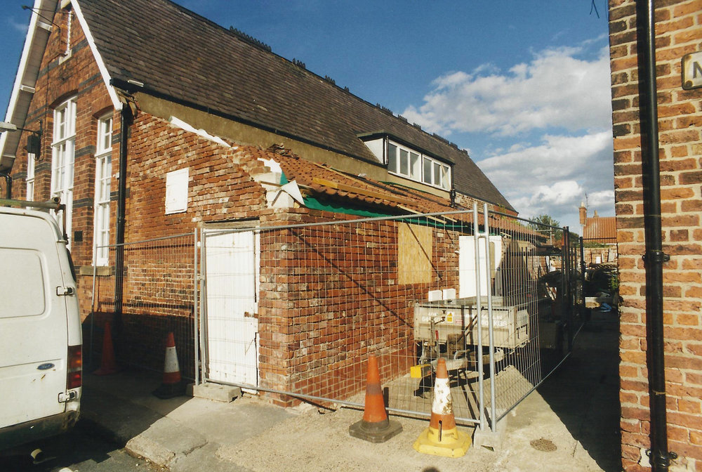 3Old Dairy Construction Exterior 4 - Hedon Architects - Samuel Kendall Associates