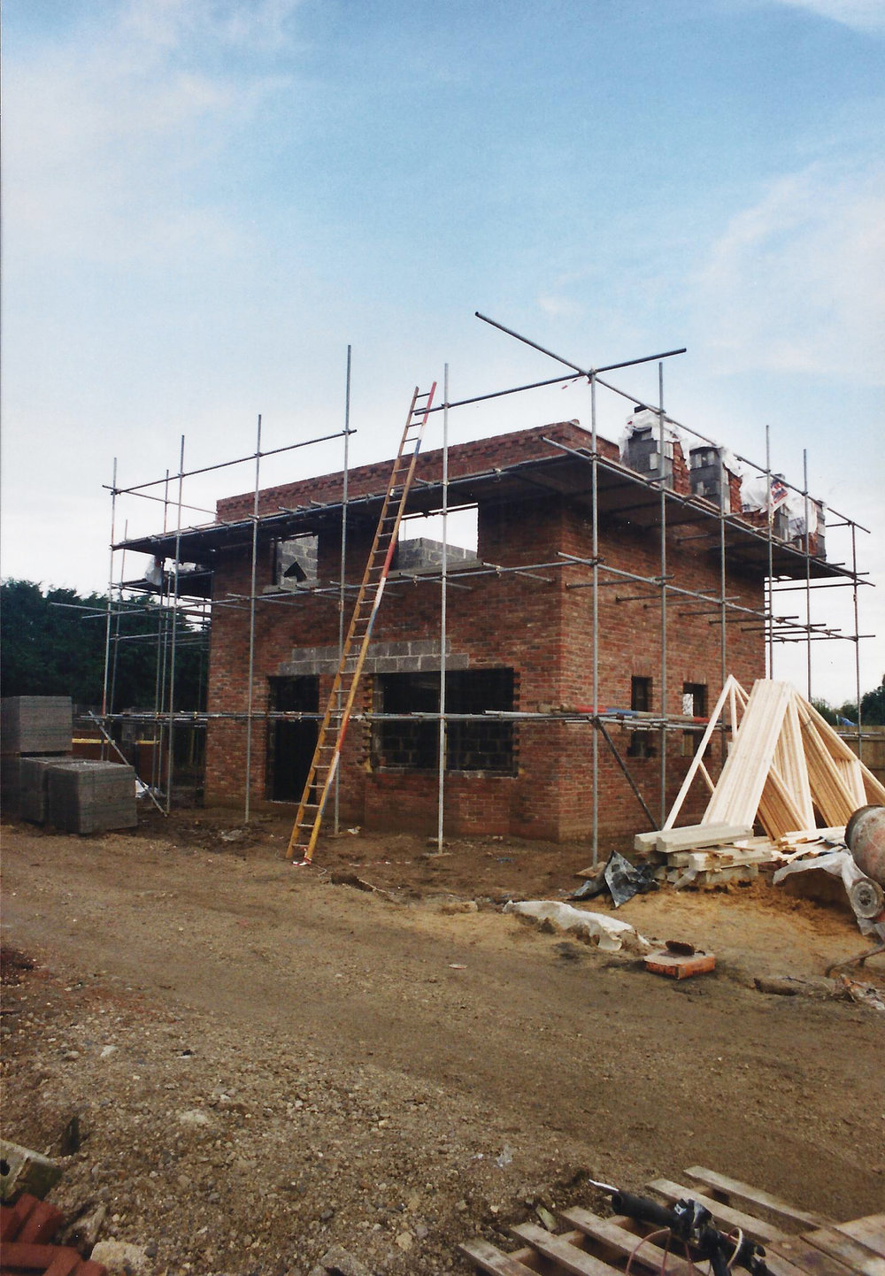 Blenheim Cottage Construction 1 - East Yorkshire Architects - Samuel Kendall Associates.jpg