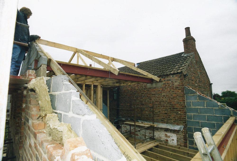 Walbut House Construction In 1 - Samuel Kendall Associates.jpg