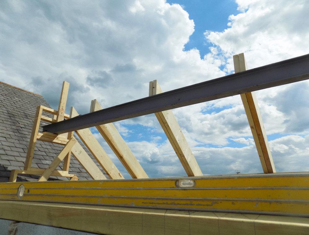 Mereside House Construction 6 - Hornsea Architects - Samuel Kendall Associates