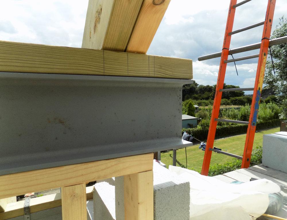 Mereside House Construction 7 - Hornsea Architects - Samuel Kendall Associates