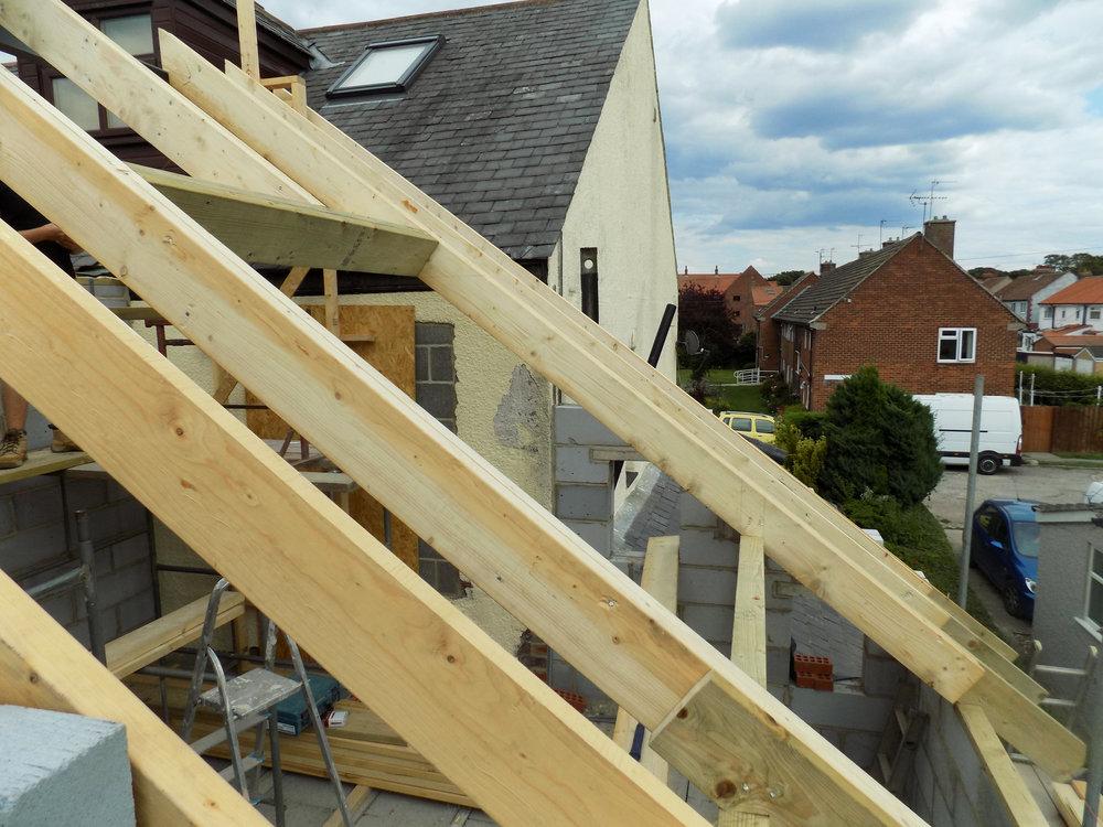 Mereside House Construction 9 - Hornsea Architects - Samuel Kendall Associates