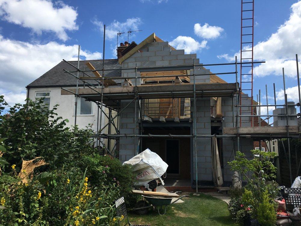 Mereside House Construction 1 - Hornsea Architects - Samuel Kendall Associates.jpg