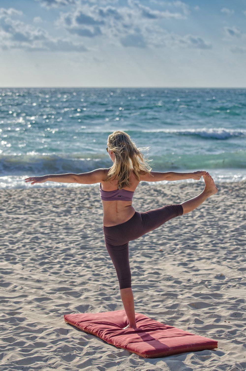 Yoga Flow Adventures - Yoga Beach