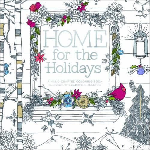 Home for the Holidays: Adult Coloring Book