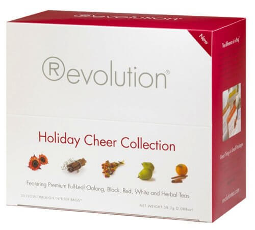 Revolution Holiday Cheer Collection, 30-Count Tea Bags