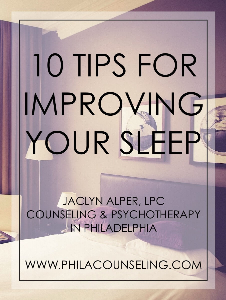 10 Tips for Improving Your Sleep - Sleep Hygiene