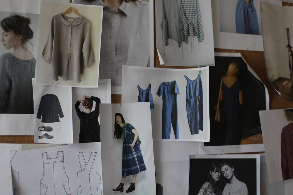 Take a look behind the scenes.. - We feel there is beauty in the process of making our clothing and invite you into the studio to see it all happen.