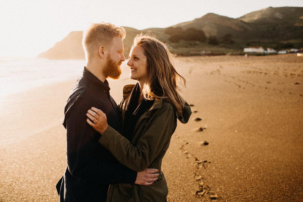 california engagement session