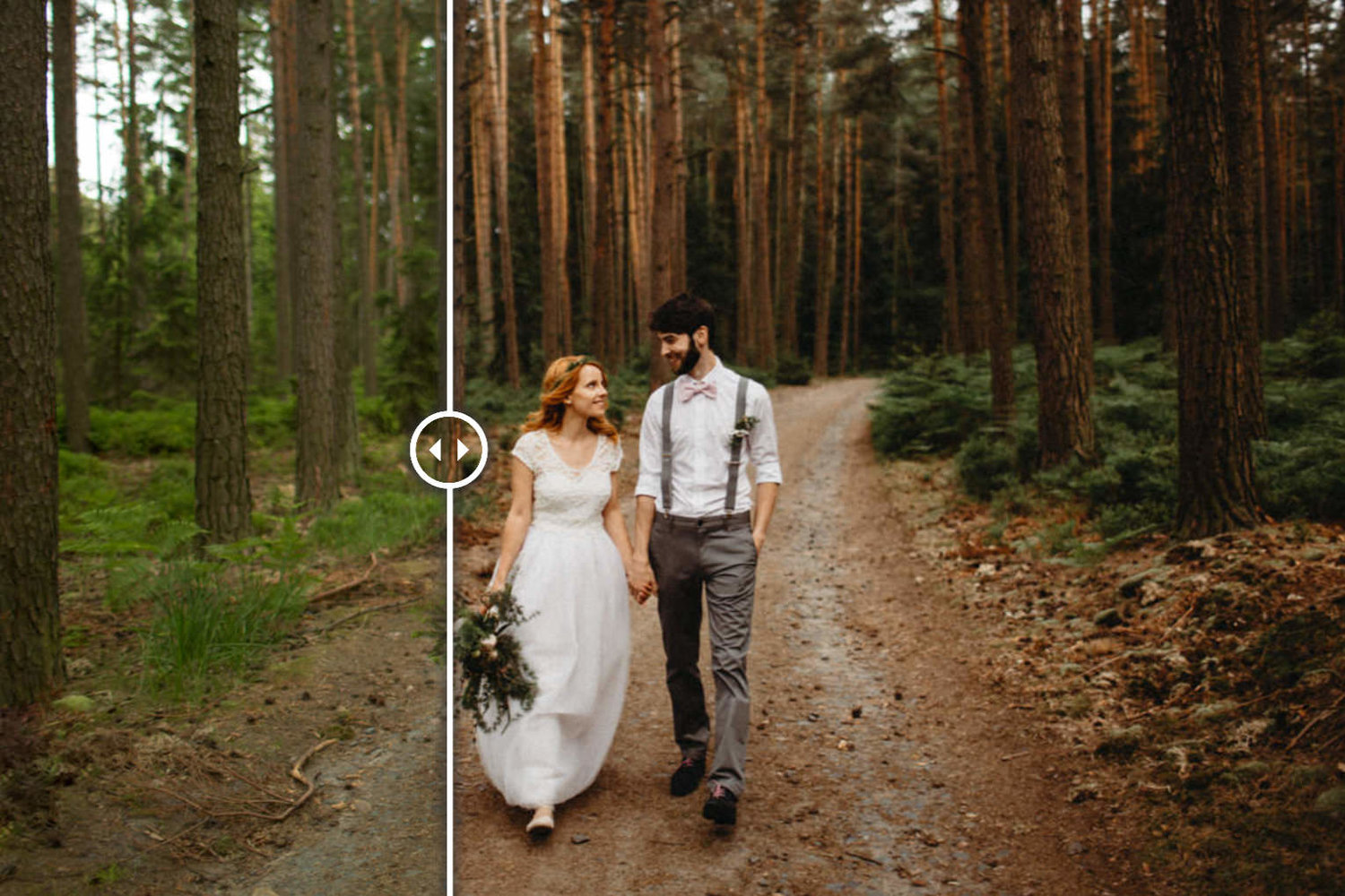 WEDDING PHOTOGRAPHY EDITING TIPS - CREATING SOFT EARTHY
