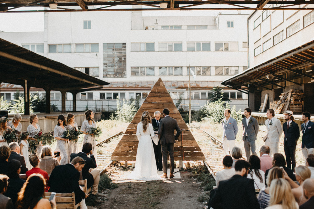 hipster wedding venue