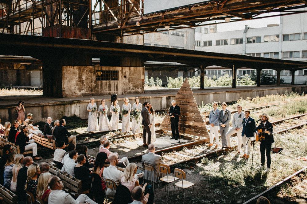 Industrial Wedding in Prague -