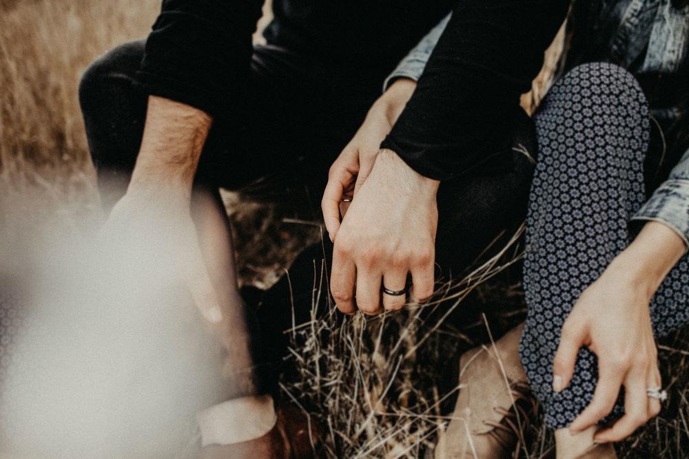 loversholding hands