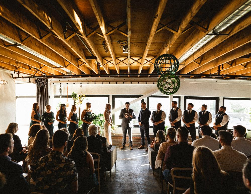 union pine wedding ceremony
