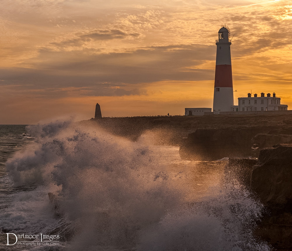 Portland Bill waves