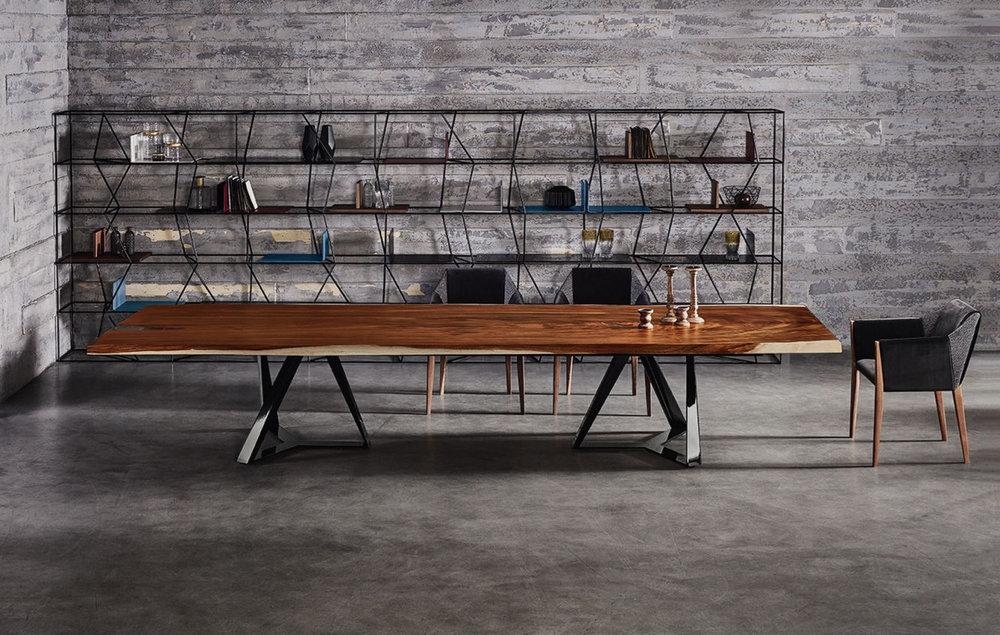 tavolo legno antico bontempi